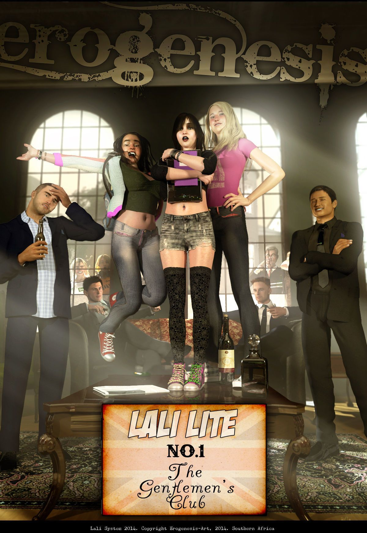 [Erogenesis] Lali Lite 1 - The Gentlemen\'s Club