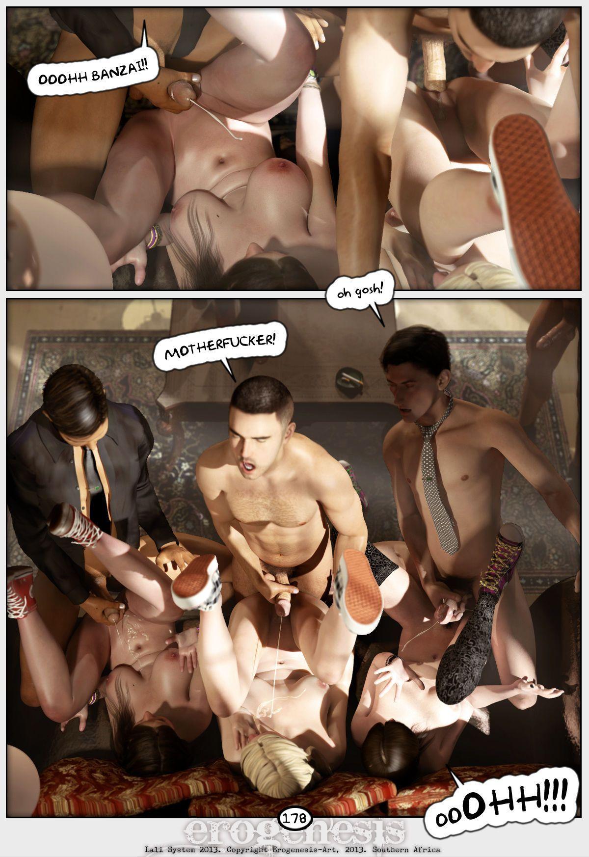 [Erogenesis] Lali Lite 1 - The Gentlemen\'s Club - part 9