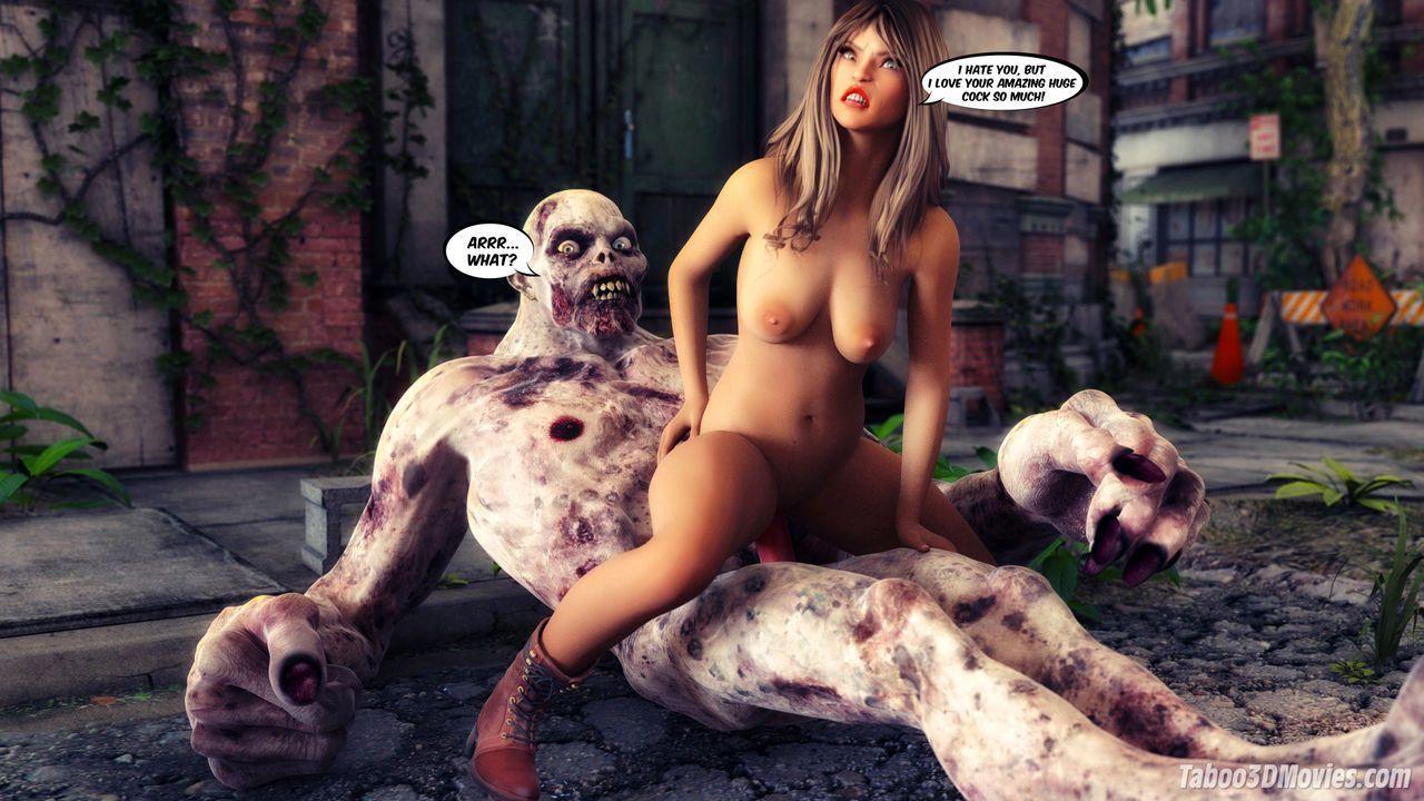 Зомби апокалипсис секс извиняюсь, но