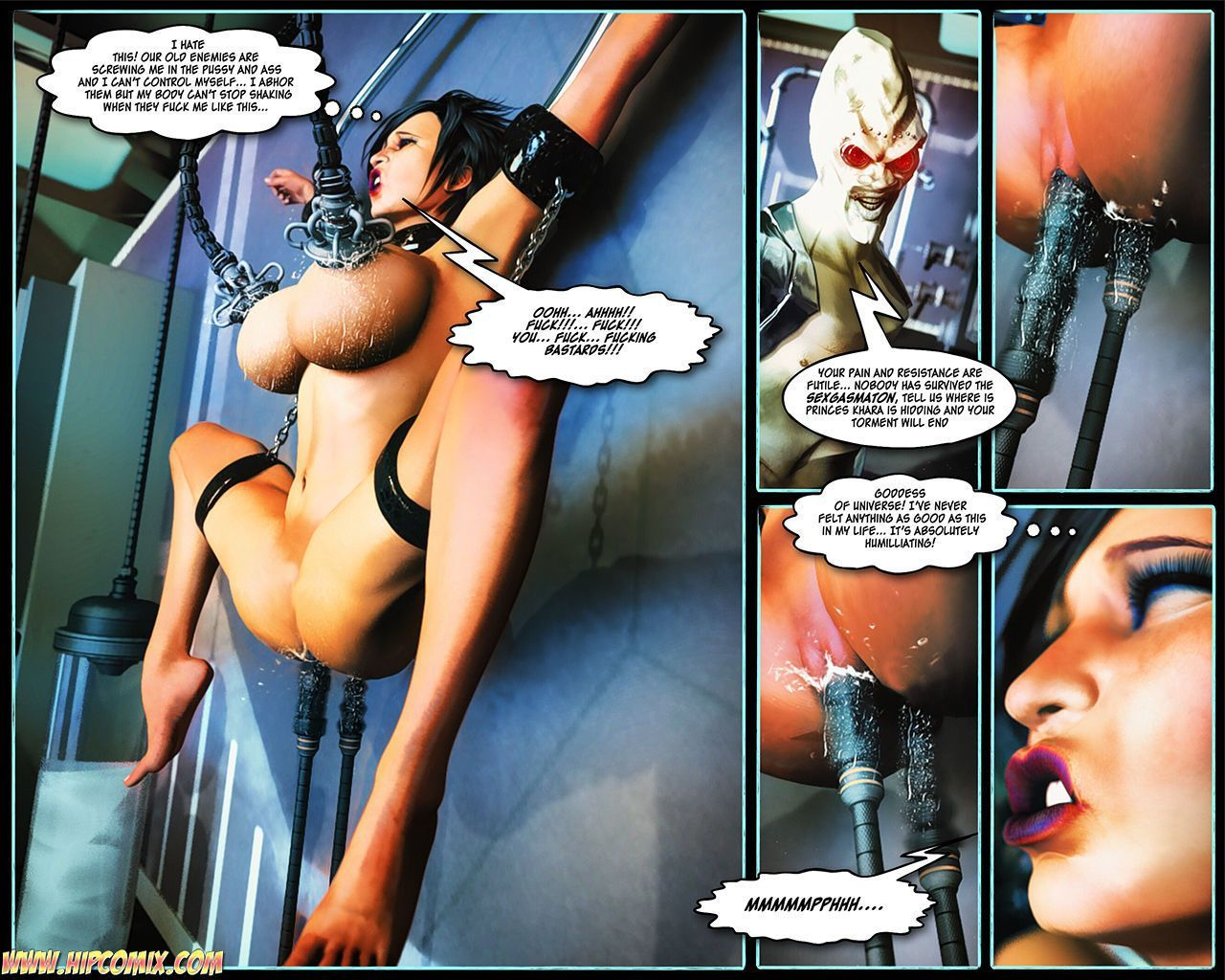 [Mitru] Hip Girl - Captive of Guul 1-8 - part 7