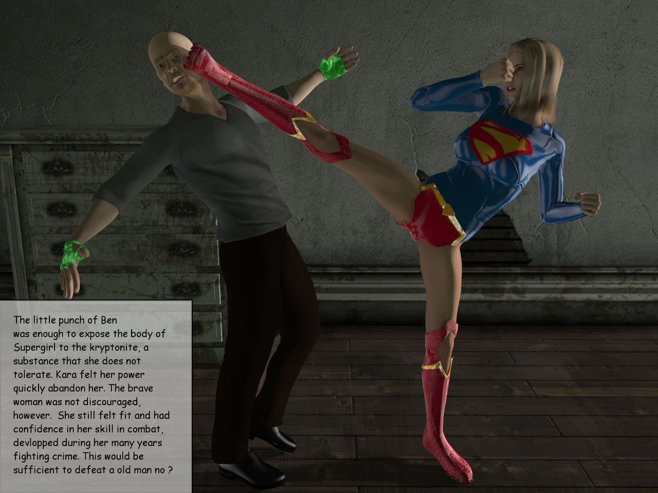(nightwing3000)Back to the past Starring Supergirl [ENG]