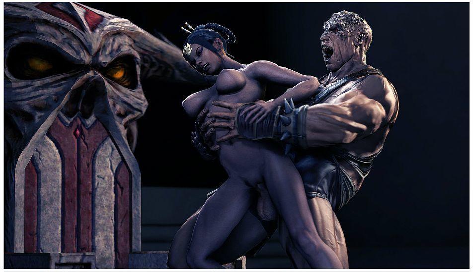 [Hentaiforeva] Outworld procreation ritual (Mortal Kombat)