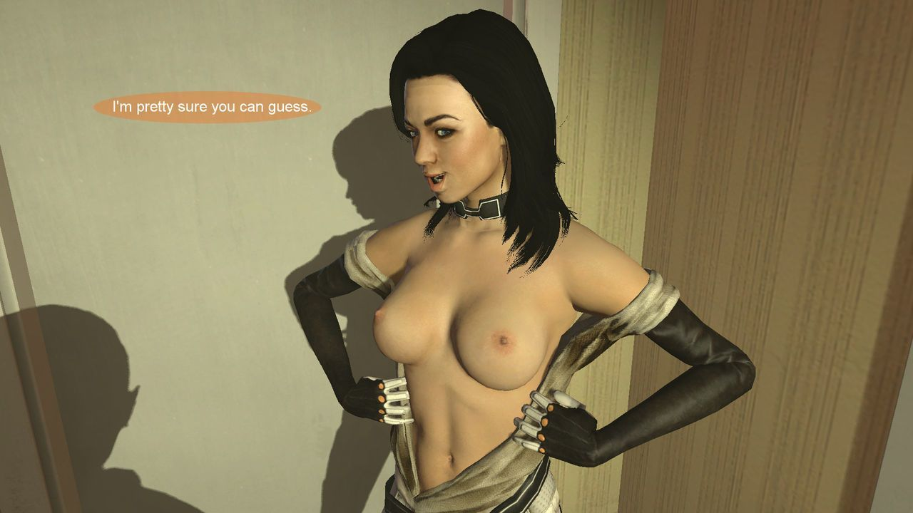 A Small Favor: Mass Effect Shrinking comic