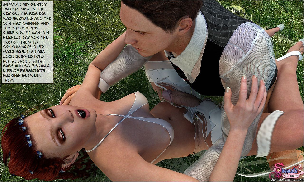 Naughty Shemale Bride - part 2