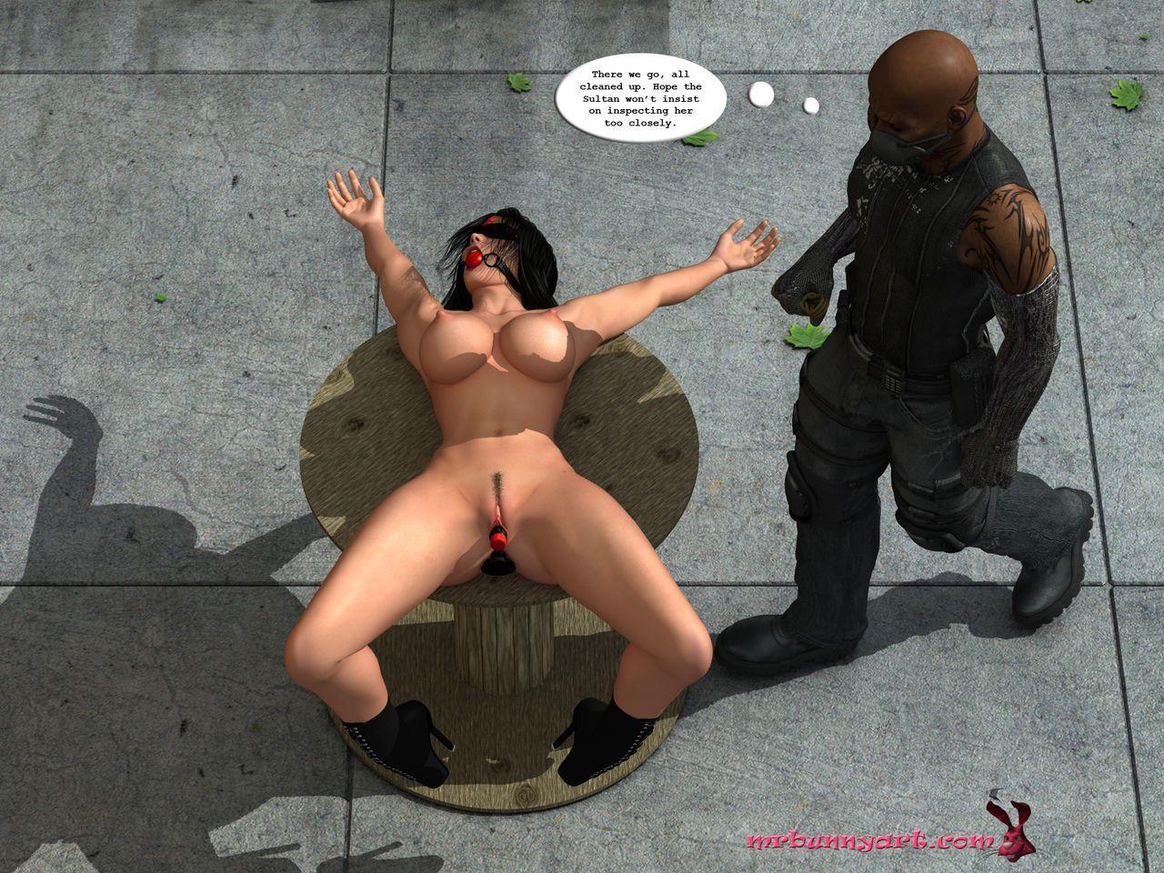 [MrBunnyArt] wonder woman vs cain (wonder woman) [English] - part 2