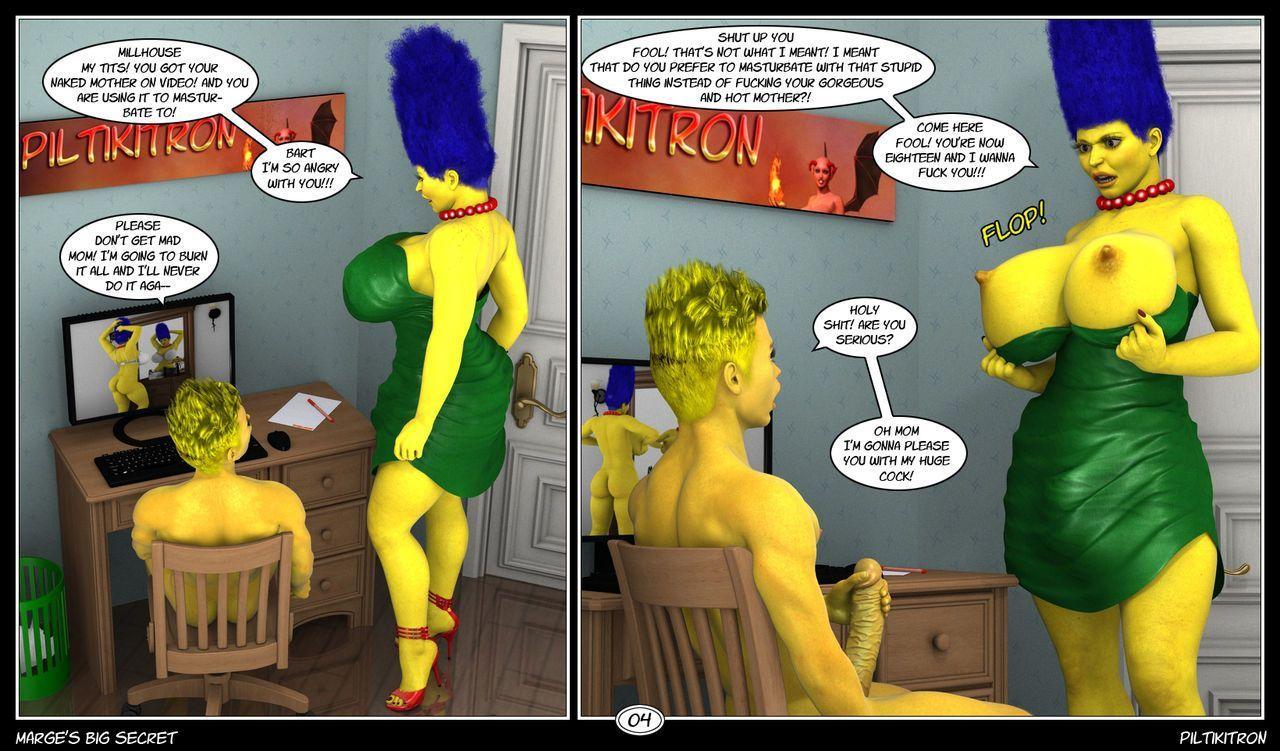 [PILTIKITRON] Marge\'s Big Secret (The Simpsons)