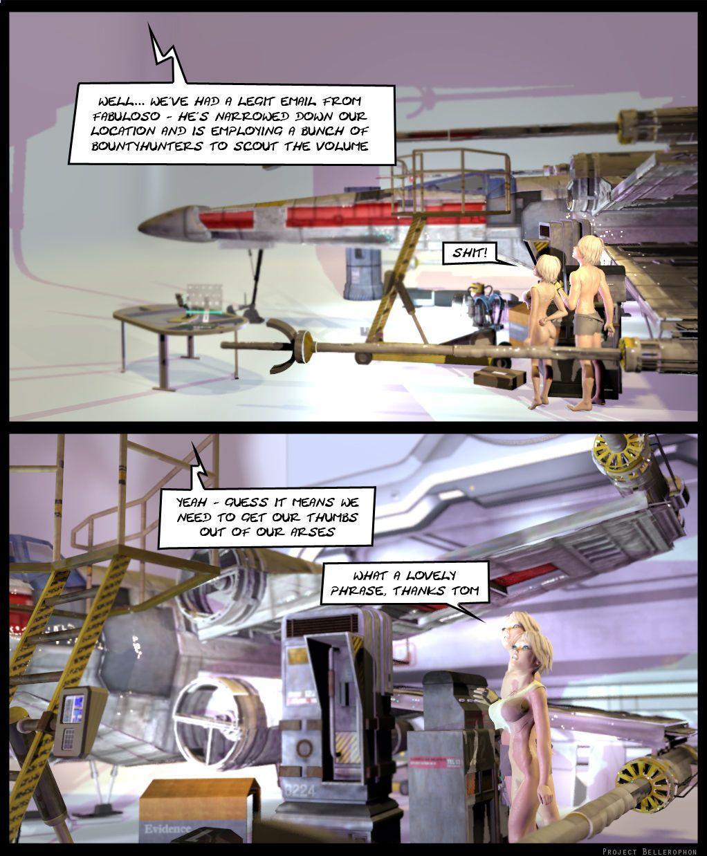 Project Bellerophon Comic 16: Bum Deal - part 3