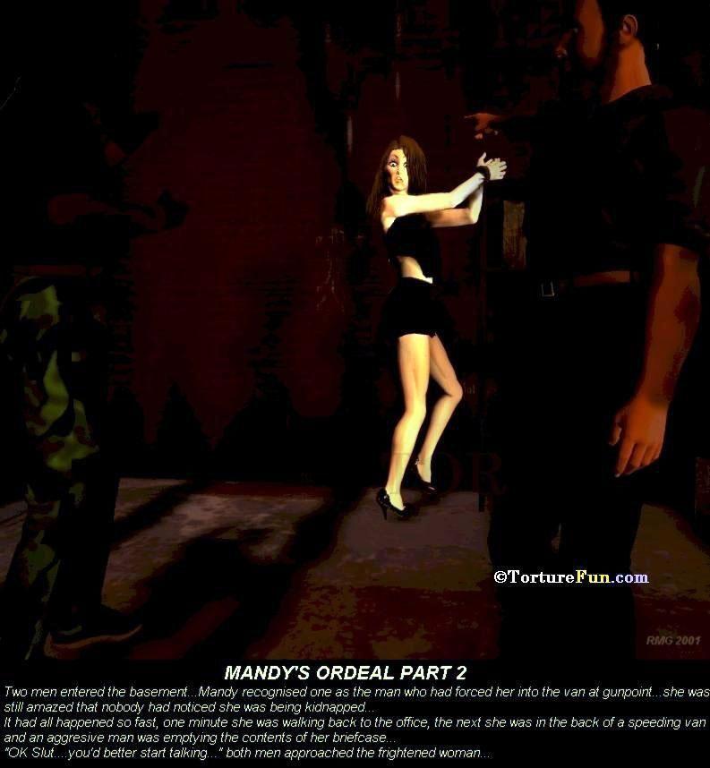 TortureFun - Mandy\'s ordeal