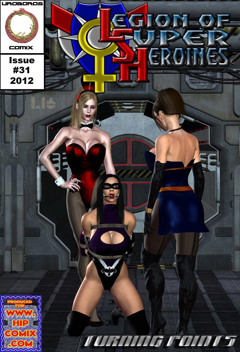 [Uroboros] Legion Of Superheroines 29 - 46 - part 2