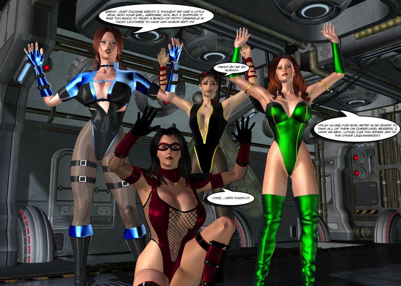 [Uroboros] Legion Of Superheroines 29 - 46 - part 8