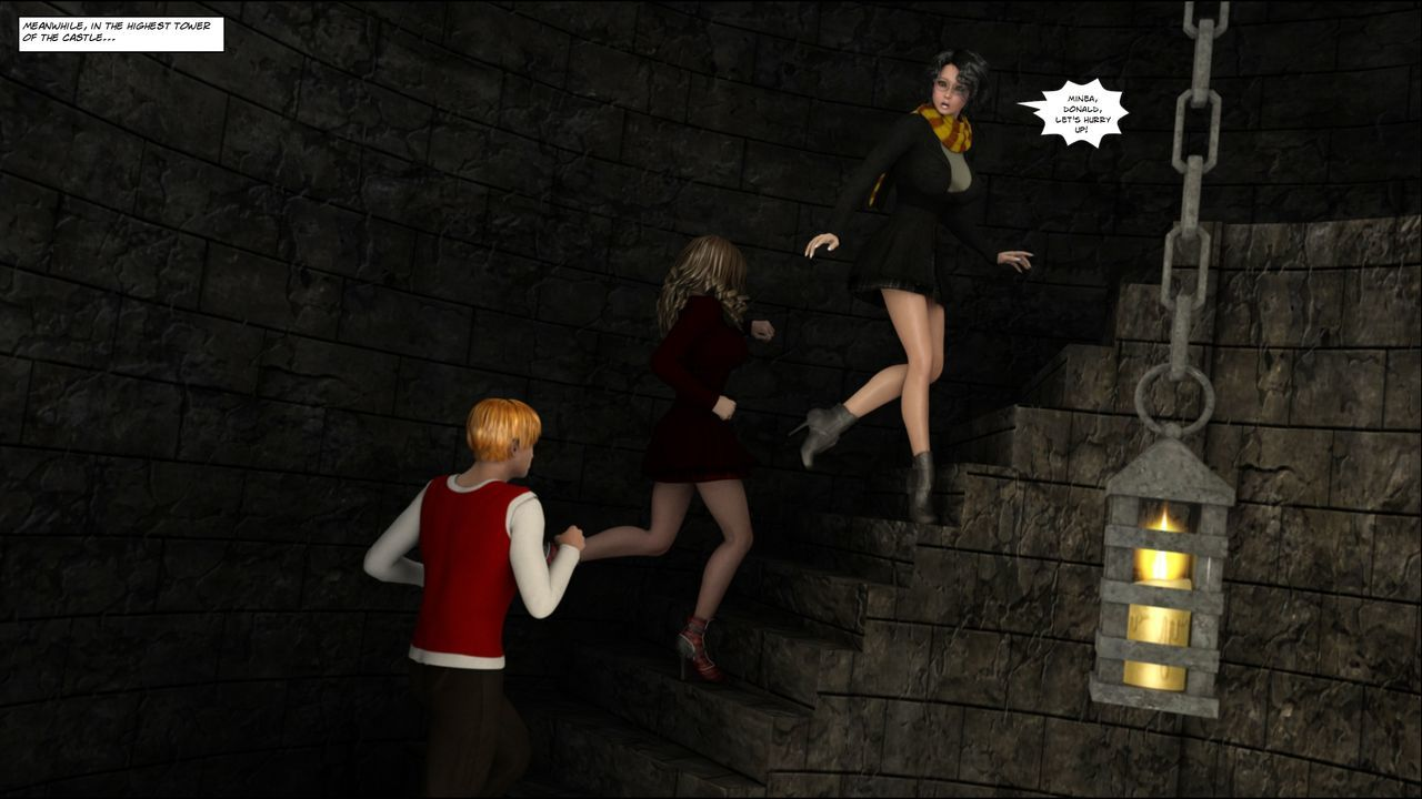 [Shinra-kun] Harriet Cooper And The Wizard\'s Sacrifice - Spell 2 - part 3