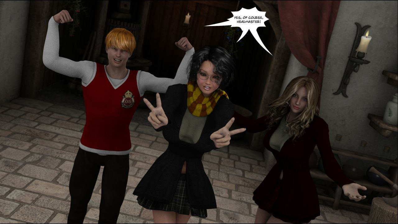 [Shinra-kun] Harriet Cooper And The Wizard\'s Sacrifice - Spell 2 - part 4