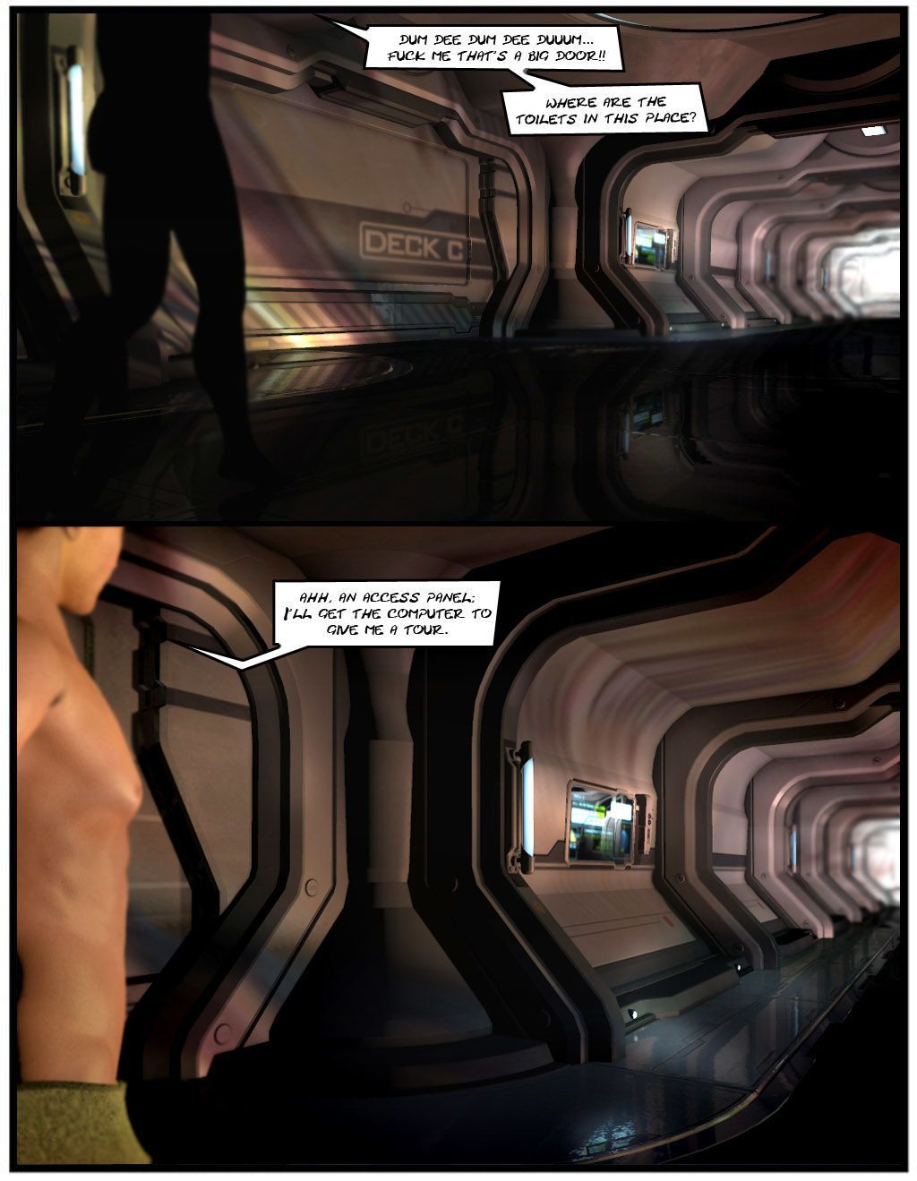 Project Nemesis Comic 8: Breakfast in Tacspace