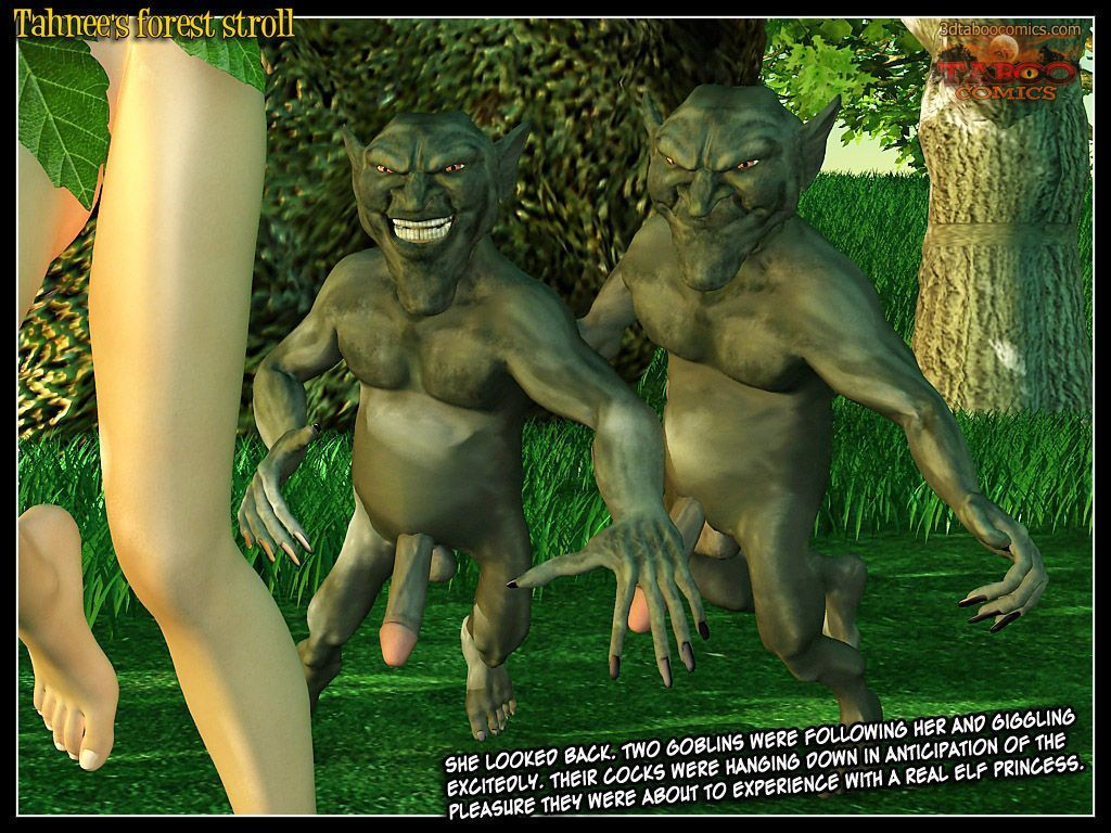 (taboo comics) Tahnee\'s forest stroll