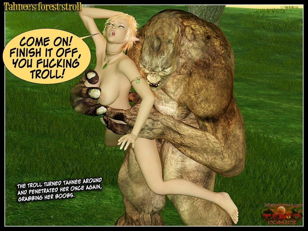 (taboo comics) Tahnee\'s forest stroll - part 2