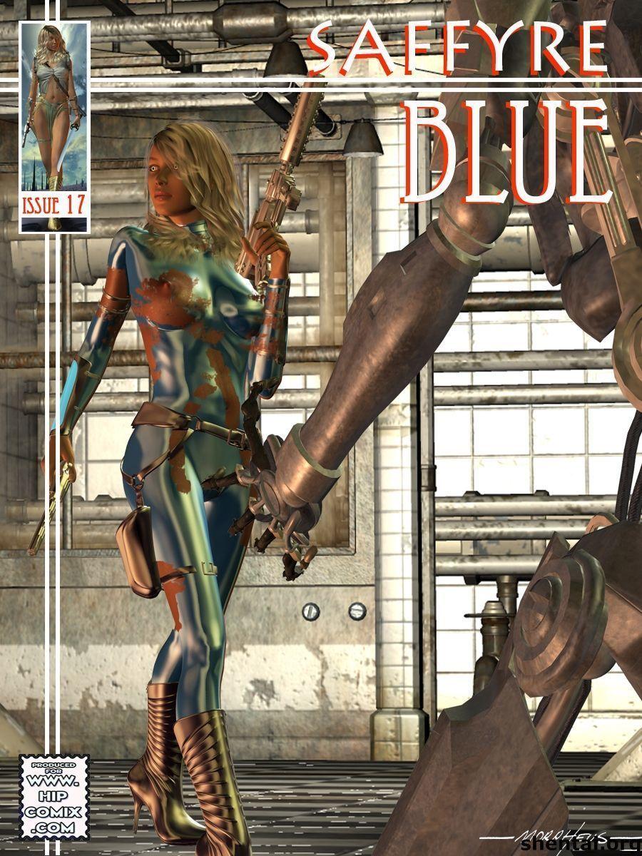 Saffyre Blue 17