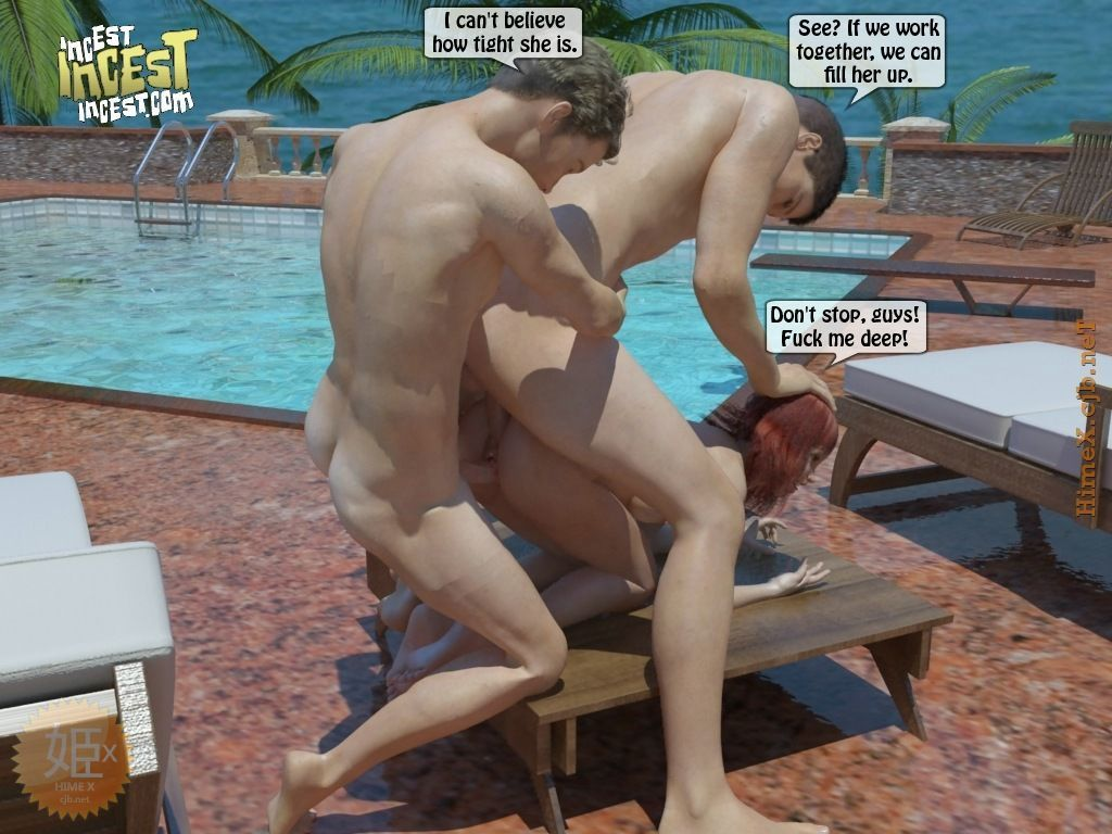 summer at the pool - part 3