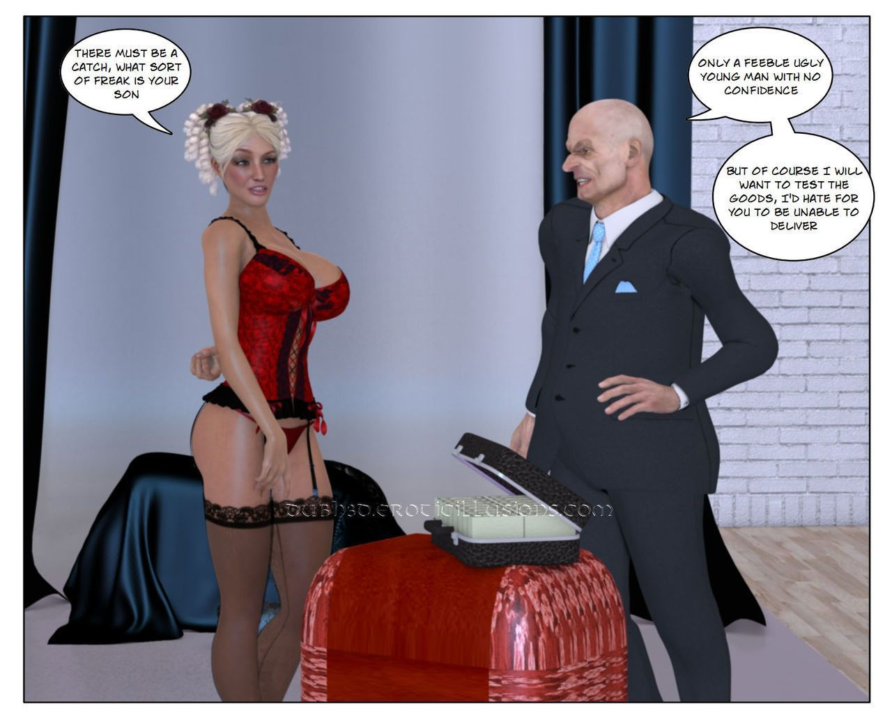 Dubhgilla - Marie Claude - The Proposal And Introduction