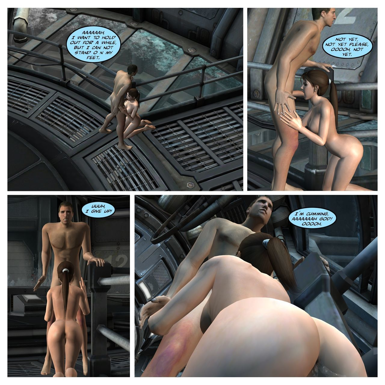 Lady & Stone Statue - Sexual Story Part III of III - part 2