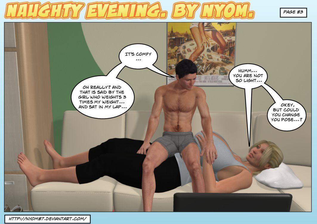 Nyom-Naughty Evening - part 5