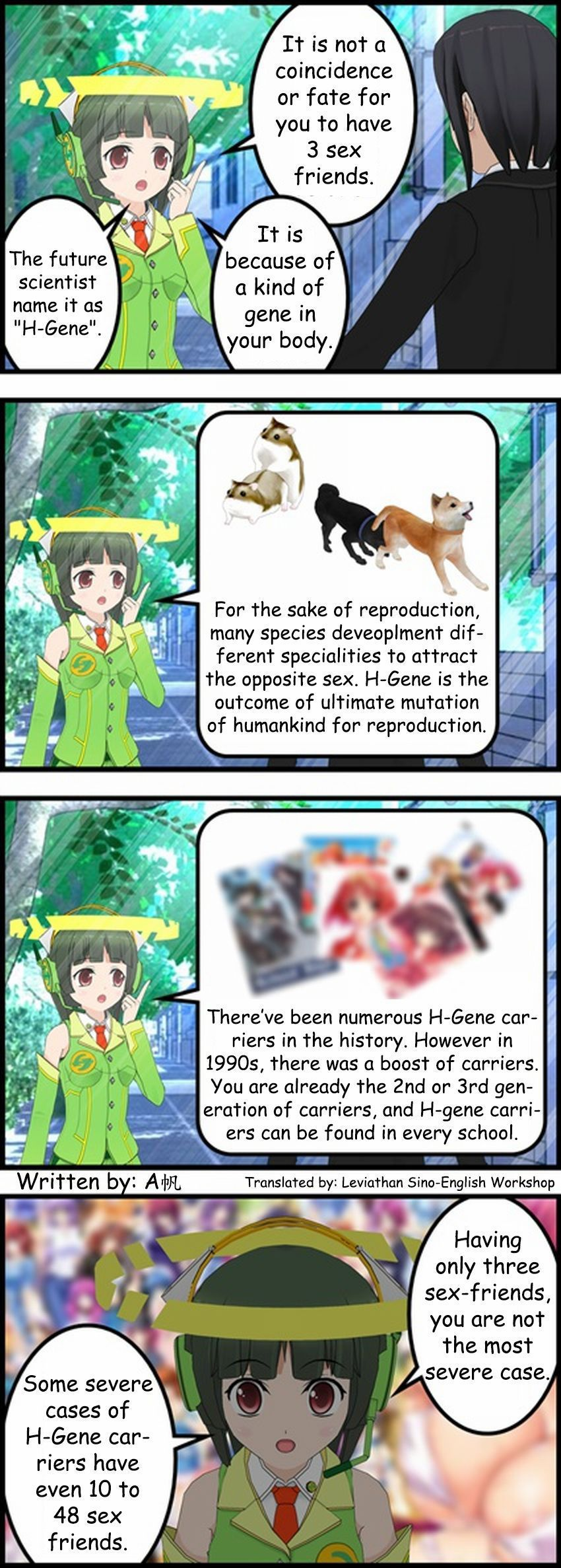 [A Fan] Why Harem Heroes are impotent [ENG] [Leviathan]