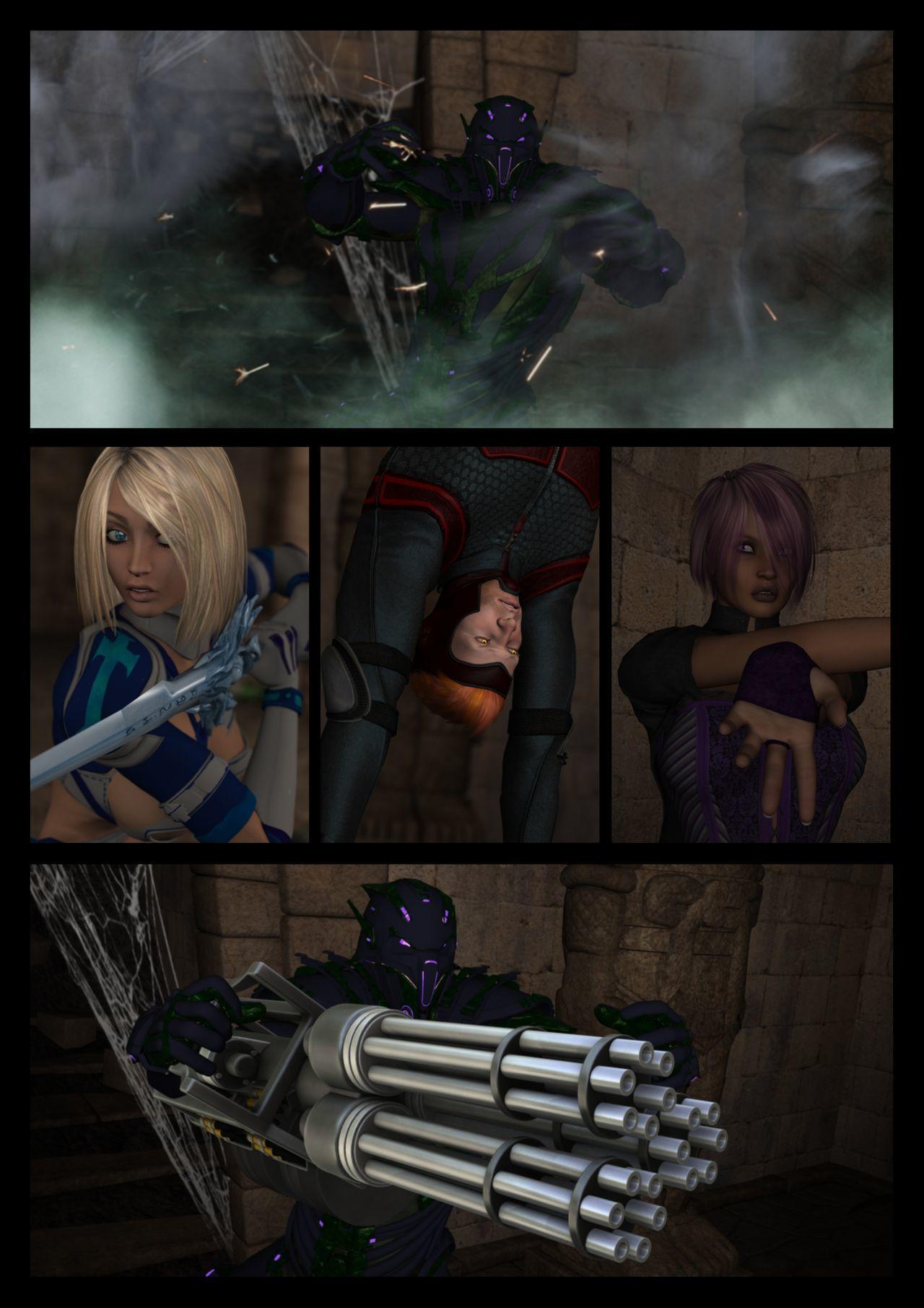 [Shinra-kun] Legion: Thrall of the Mask - Part 1 - part 2