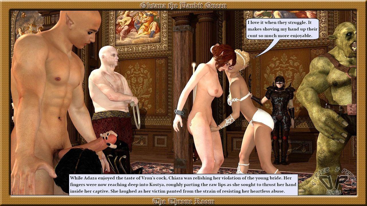 Oksana The Bandit Queen - Part Four - part 5