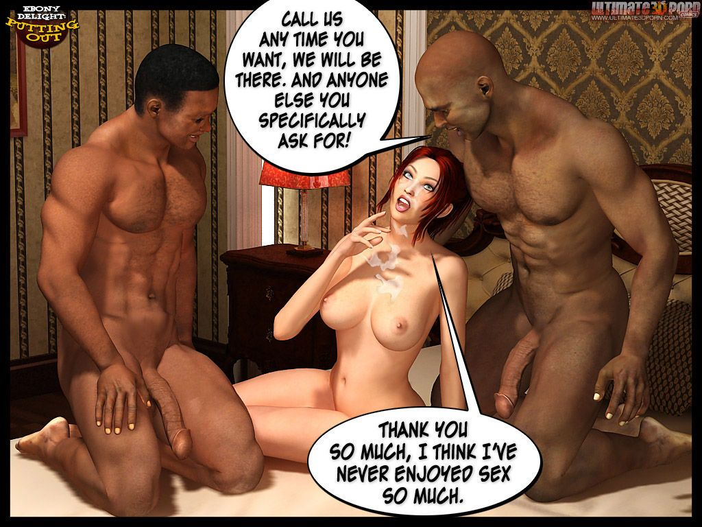 Ebony Delight: Putting Out - part 3