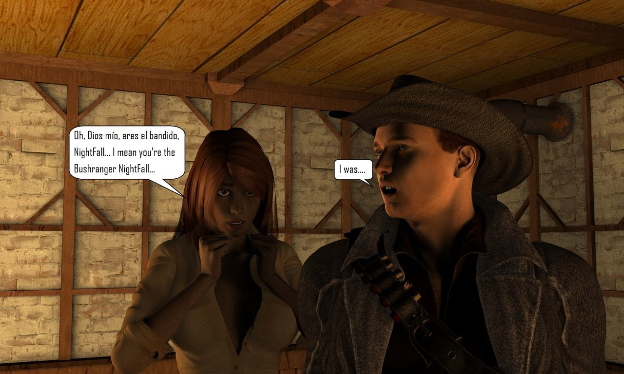 Mina Chronicles Issue 10 - The Vampire and The Bruja Part 1 - part 4
