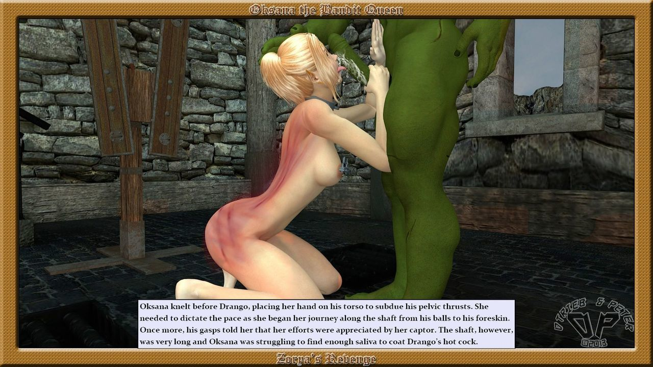 Oksana the Bandit Queen - Part Three - part 4