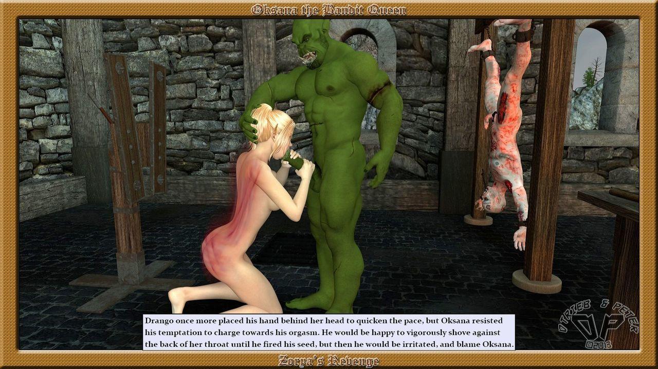 Oksana the Bandit Queen - Part Three - part 5