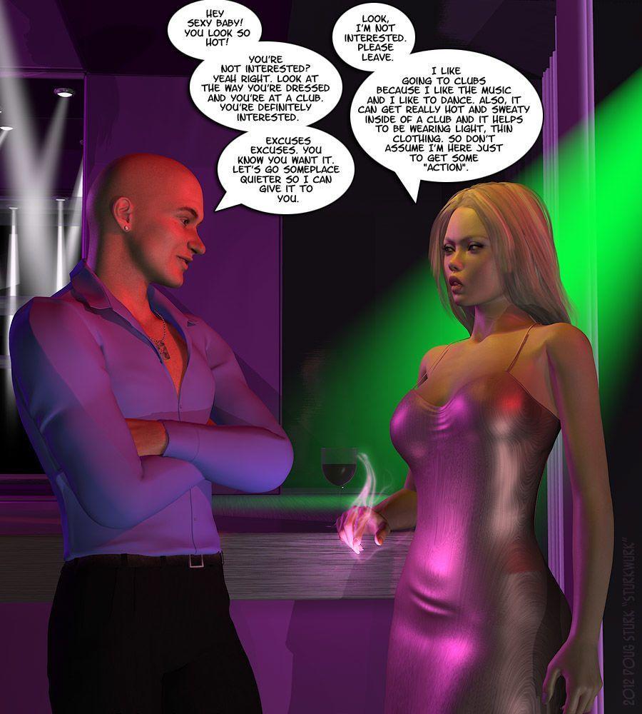 [SturkWurk] Amber at the Club