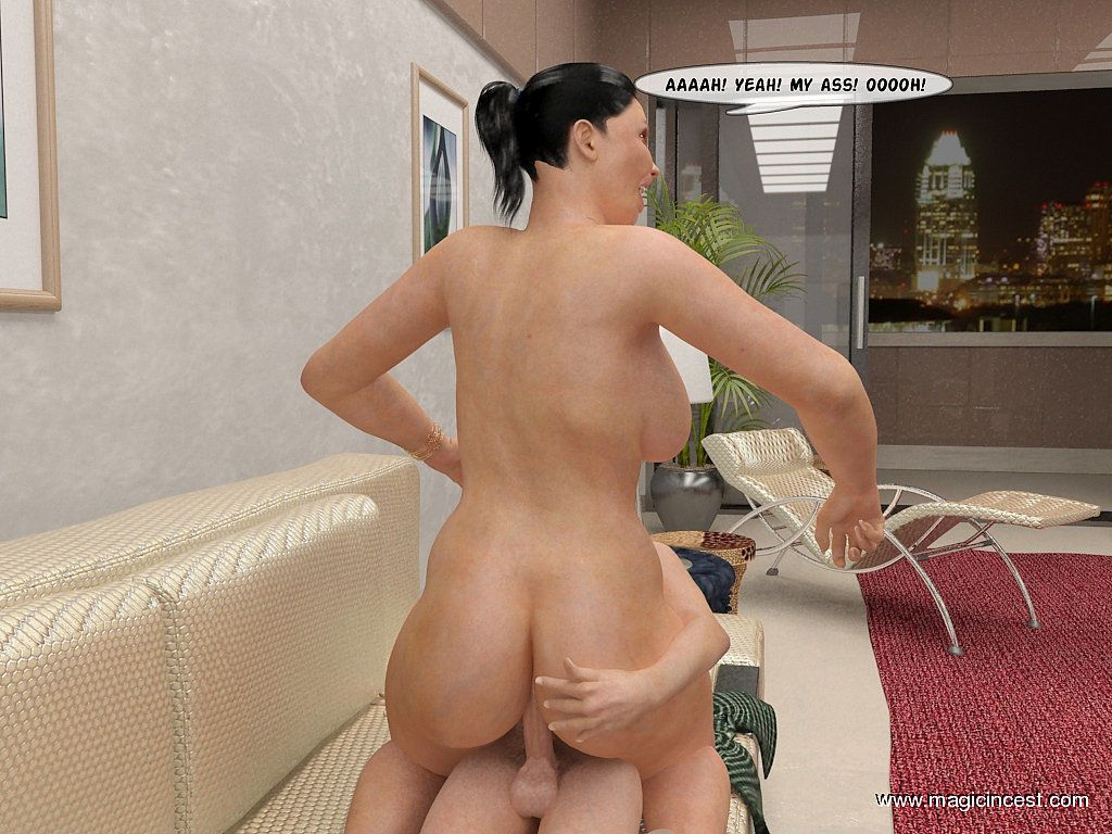 (magicincest) (mother - son) Charles is jerking off again - part 2