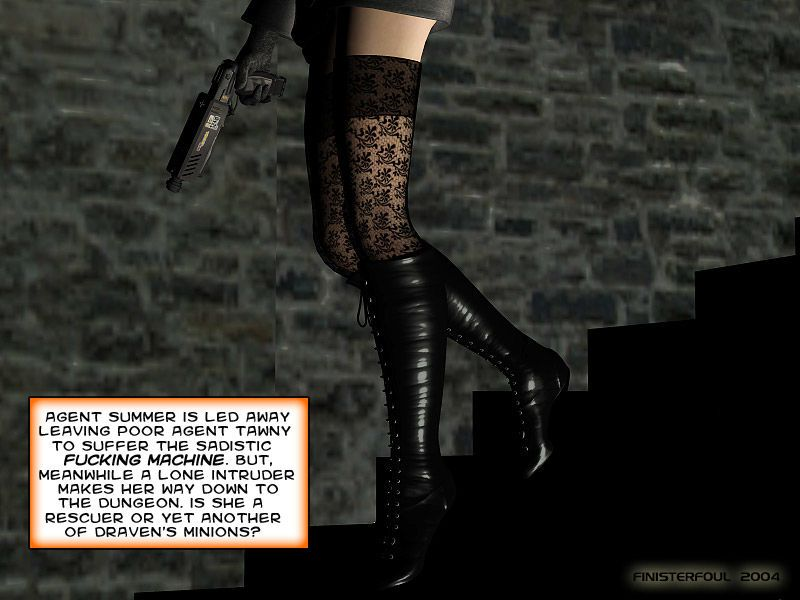 Agents of D.E.S.I.R.E. - Babes Against the Machine - part 2
