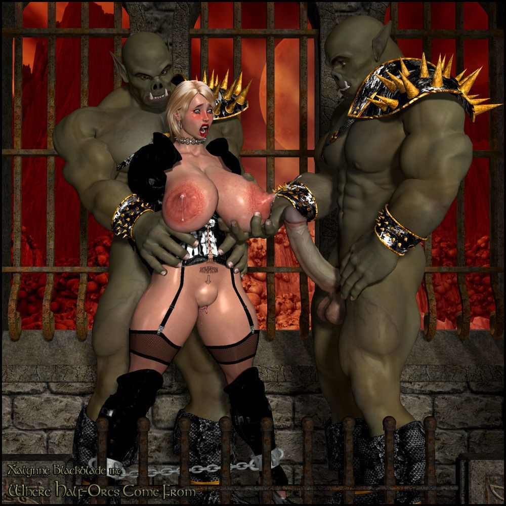 Breast Groping Monsters 3D style