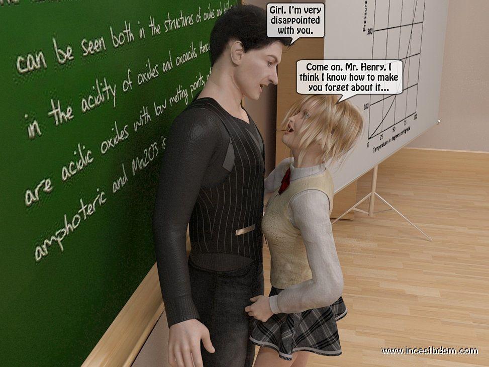 incestbdsm - Teaching freshie to respect her parents