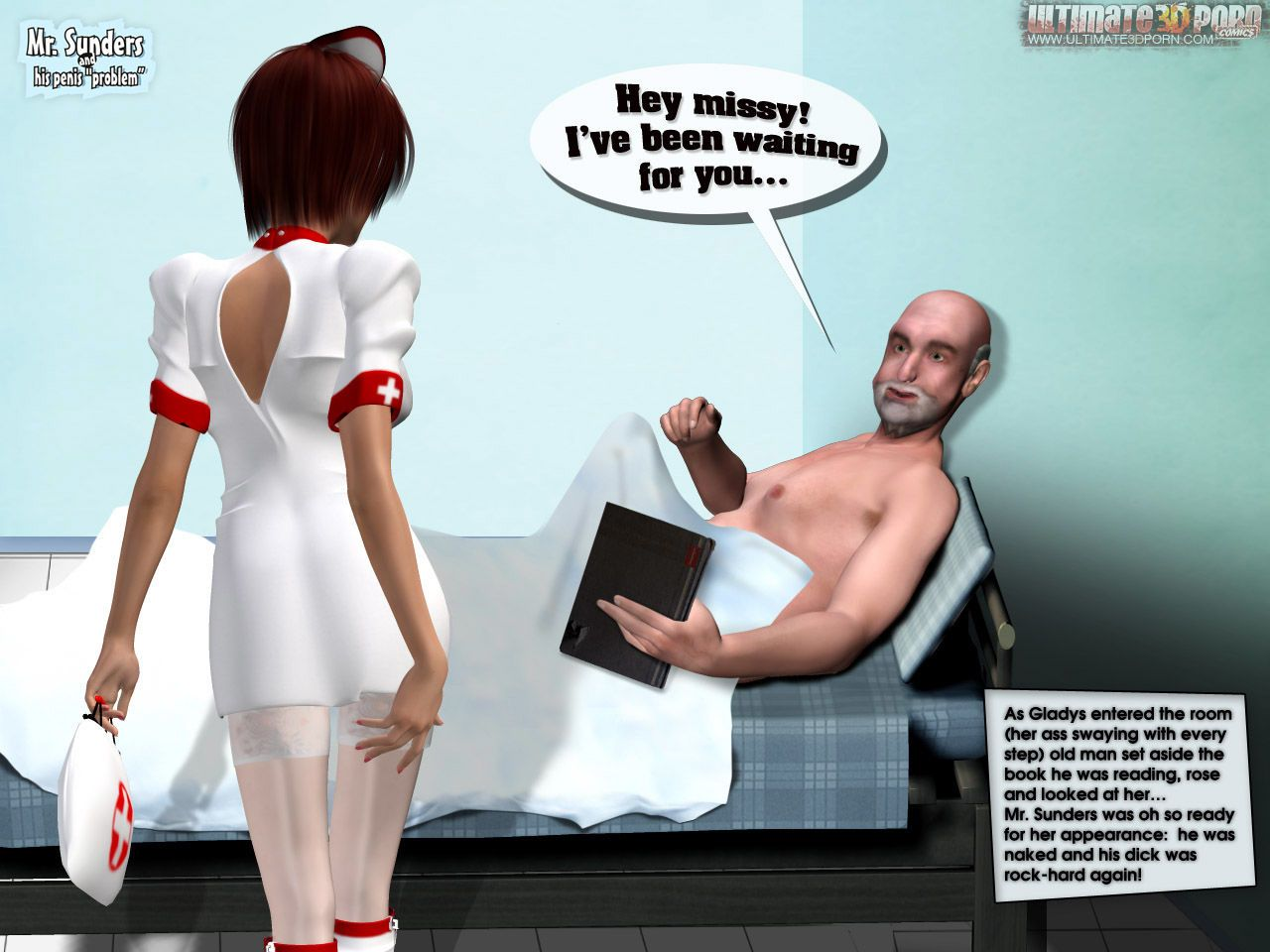 Mr. Sunders and His Penis Problem. Part 2