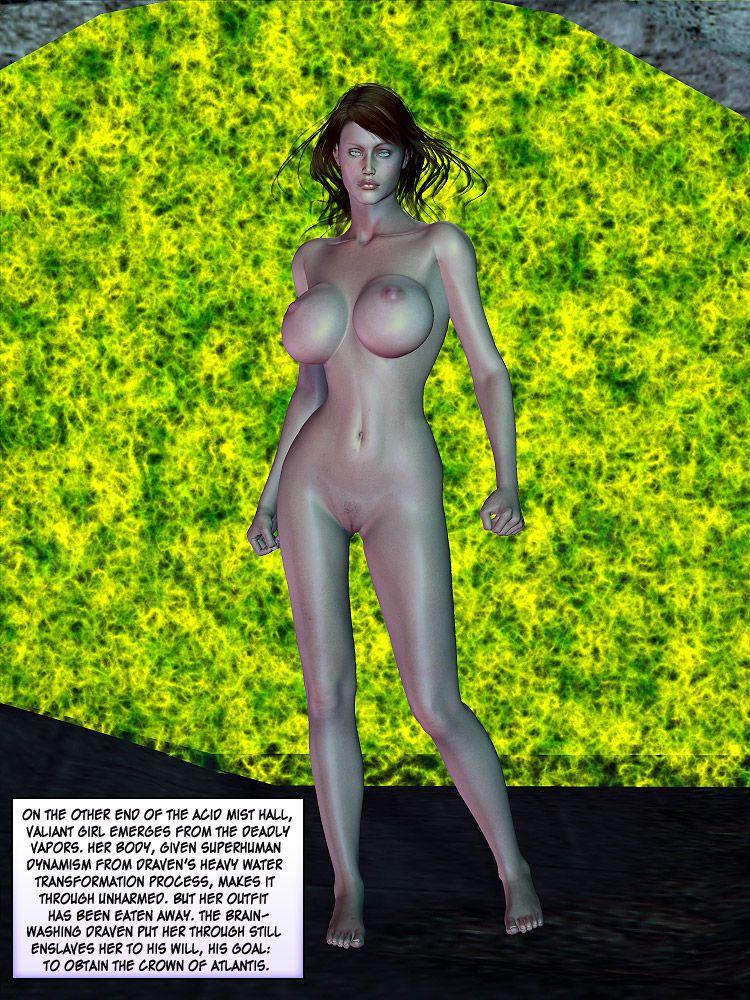 Agents of D.E.S.I.R.E. - The Origin of Valiant Girl - part 5