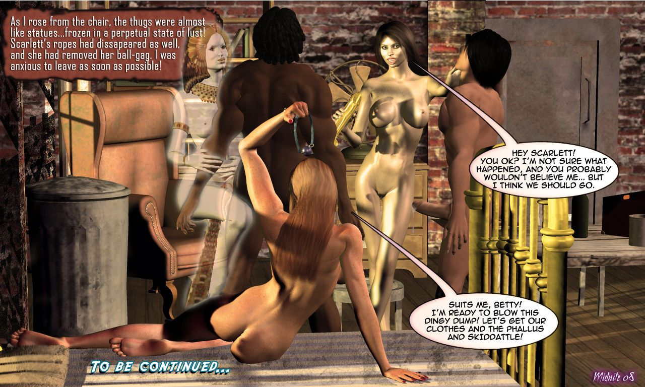 Betty Noir Private Eye - 04.The Case of the Pharaoh\'s Phallus - part 4