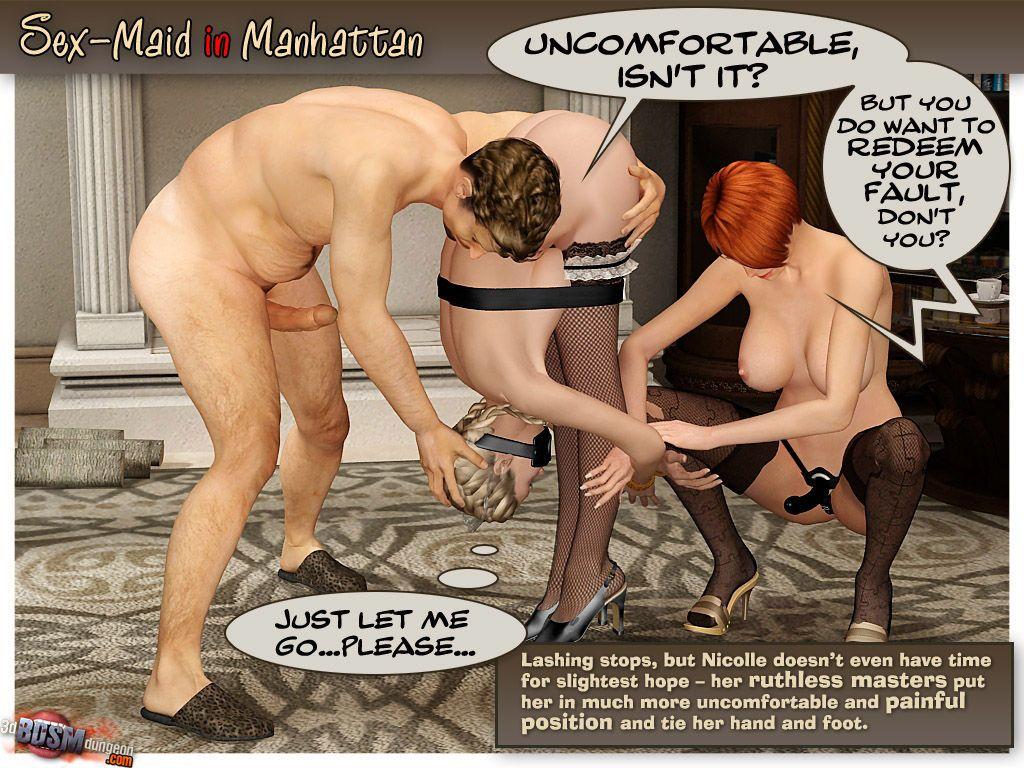 Sex Maid in Manhattan - part 2