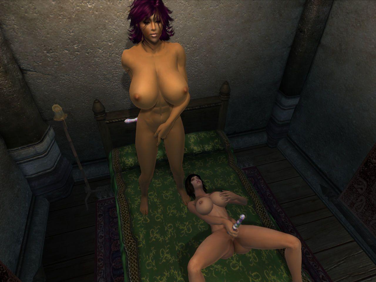 [Chaisy] Oblivion Strap-on Sex (The Elder Scrolls: Oblivion)