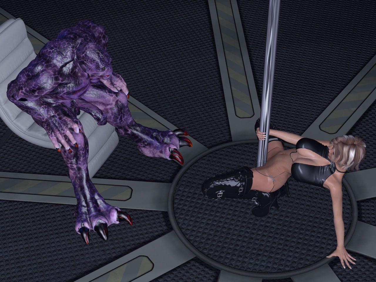 [Dizzydills] Striptease in space.