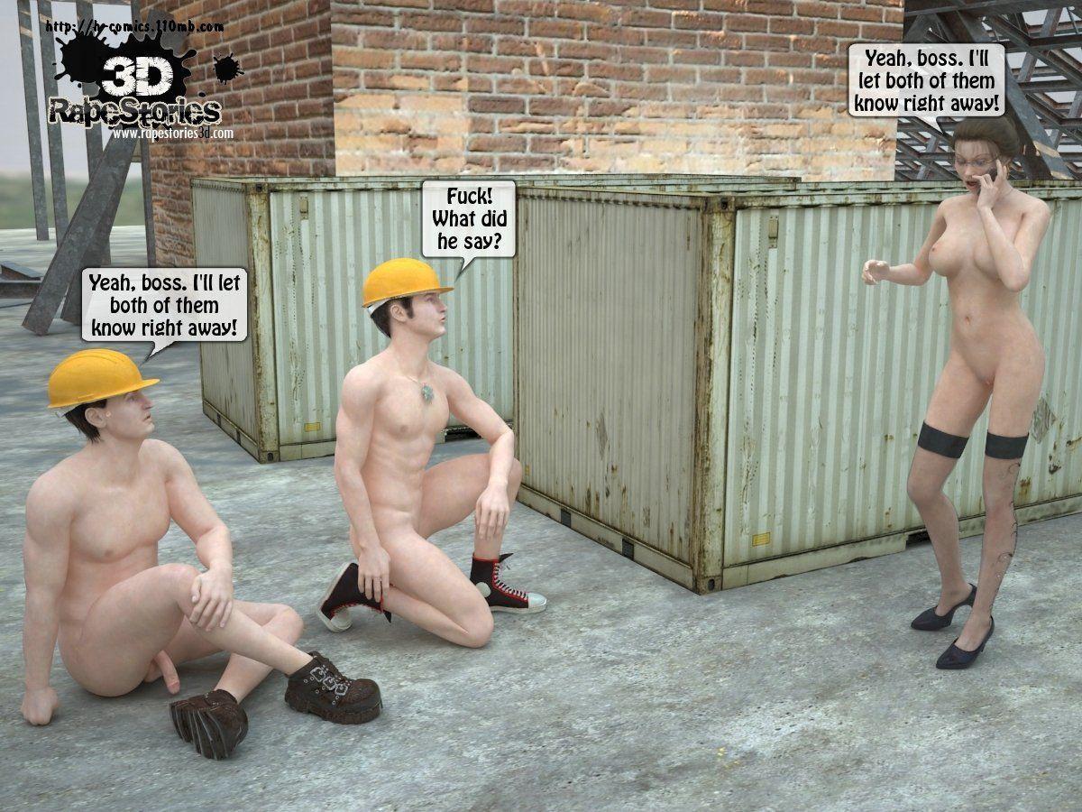 3d Rape Story 1 - part 2