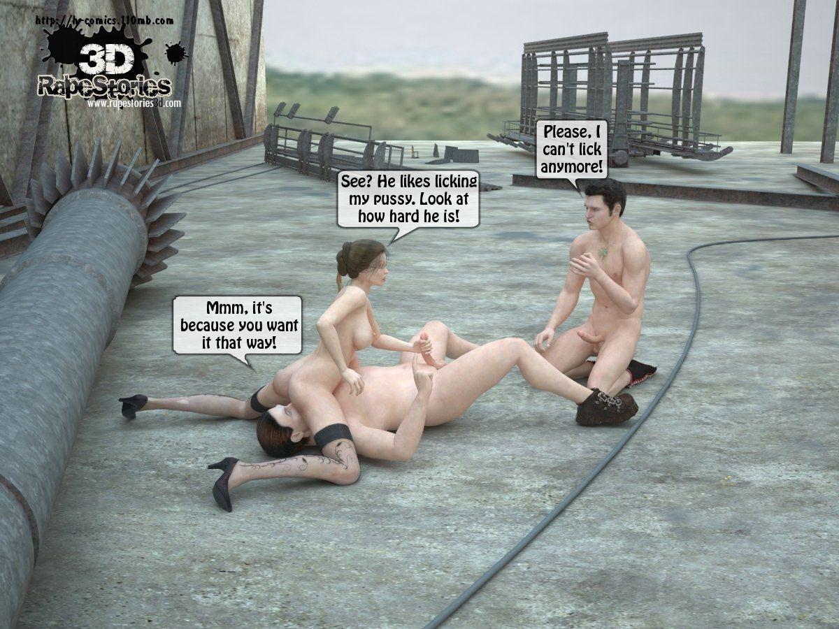 3d Rape Story 1 - part 3
