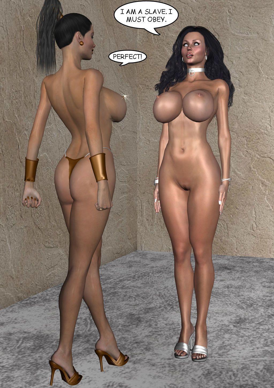 [3D] Hypnotized Women - part 2