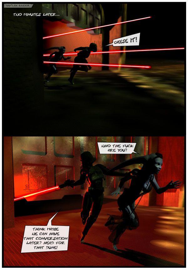 [project_nemesis] Twi\'lek Raider (Star Wars)