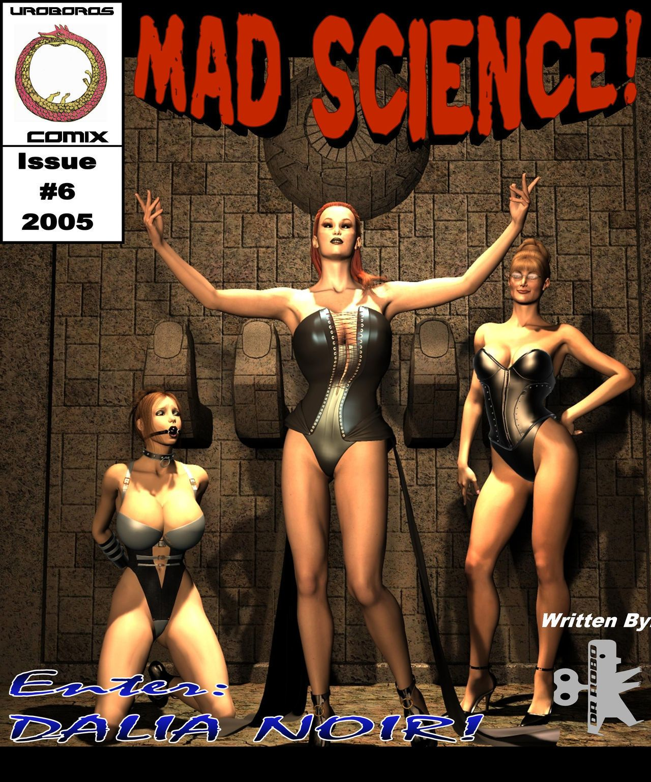 [3D]Mad science #1 - part 6