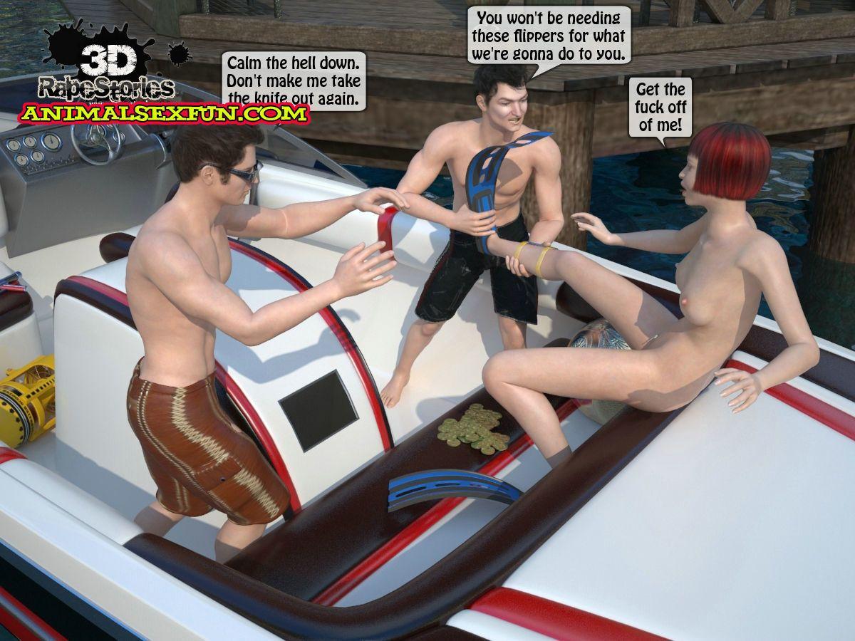 The driver was raped by seamen