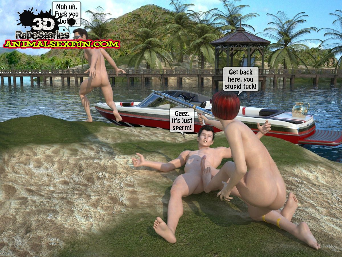 The driver was raped by seamen - part 3
