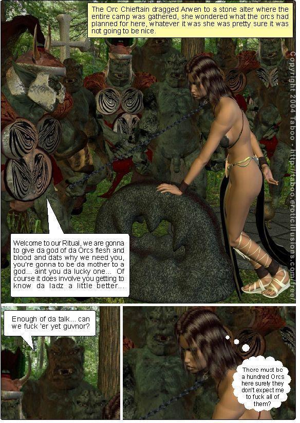 Taboo- Arwen\'s Misadventures (Arwen\'s Secret and Arwen\'s Dread) - part 5